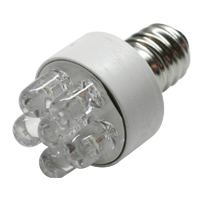 6 Cluster White LED - 91-1024-00 - Item Photo