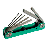 8-Piece S.A.E. Hex Key Set - 92-0045-00 - Item Photo