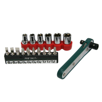 92-0889-17 - 17 Piece Offset Ratchet Screwdriver & Socket Driver Set