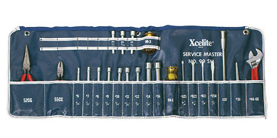 Xcelite� Series 99� 23-Piece Roll Kit - 92-1009-00 - Item Photo