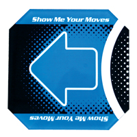 Blue Floor Pad for Dance Dance Revolution - 92-501029 - Item Photo