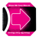 Pink Floor Pad for Dance Dance Revolution - 92-501031