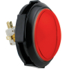 14V Red Jumbo IPB Round Push Button w/ Locking Lampholder - 75-4002-10ZL