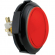 Red Jumbo IPB Round Push Button with Locking Lampholder - 75-4002-10ZL