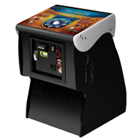 Showpiece™ Pedestal Cabinet with Golden Tee Live 2011 - 95-1276-00 - Item Photo