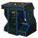 FunGlo Pedestal Cabinet for use with Target Toss Pro, Acrylic Blue - 95-3404-B4