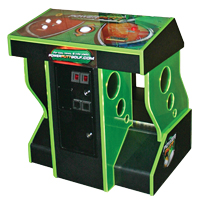 95-3404-G1 - FunGlo Pedestal Cabinet for use with Golden Tee Golf, Acrylic Green