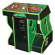 FunGlo Pedestal Cabinet for use with Power Putt Golf, Acrylic Green - 95-3404-G3