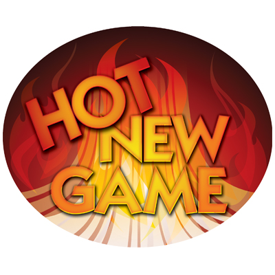 """Hot New Game"" Plexi for Tower Light Topper - 95-3656-00 - Item Photo"