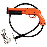 96-0500-00 - SUZOHAPP, Orange, Optical Pump Action Shotgun Assembly, for Midway CarnEvil
