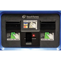 900264-001 - TouchTunes Label, Lexan US, Dual BA for MX-1