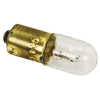 #44  Mini-Lamp, Bayonet Base, T3-1/4, 6.3V, Clear, Box of 10 - 91-1119-10