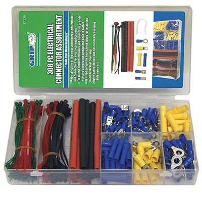 308 Piece Electrical Connector Set - 92-2485-00 - Item Photo