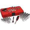 "62 Piece 1/4"" Professional Socket Set - 92-2489-00"