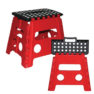Folding Step Stool - 92-2491-00 - Item Photo