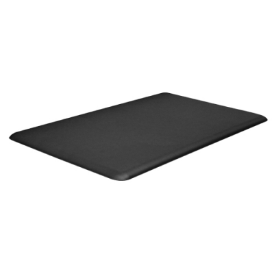 "Black Eco-Pro Advantage 5/8"" Thick Foam Mat 18"" x 30"" - 92-2627-00 - Item Photo"