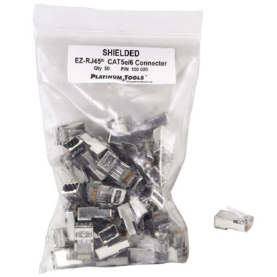 EZ-RJ45® Shielded Connectors Only  - 92-2851-00 - Item Photo