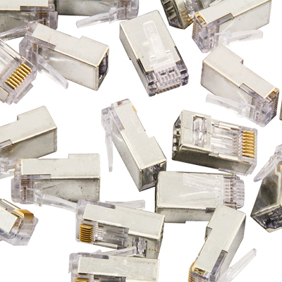 EZ-RJ45� Shielded Connectors Only  - 92-2851-00 - Item Photo