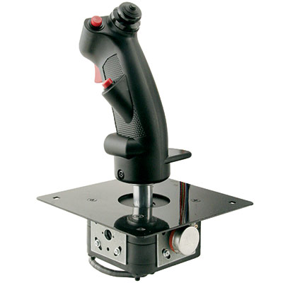 Analog Joystick, B-8 Grip with 5k Potentiometers, Directly Connects to UGCI 95-0800-20K - 95-1345-00 - Item Photo