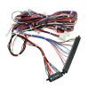 HARNESS 8 LINE SILVER BAR/GOLD TOUCH MAIN HARNESS - 95-2646-00