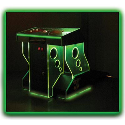 FunGlo Pedestal Cabinet for use with Power Putt Golf, Acrylic Green - 95-3404-G3 - Item Photo