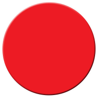 95-4012-30 - Large Round Illuminated Pushbuttons red legend