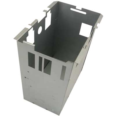 Stackable Steel  Cashbox Enclosure for Over/Under Upstacker Validator Door, for New Clips - 96-0957-10 - Item Photo