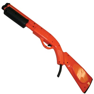 "Sega, 28"",  Red, Pump Action Shotgun Assembly with Speaker, For Extreme Hunting 2 - 99-50-324 - Item Photo"