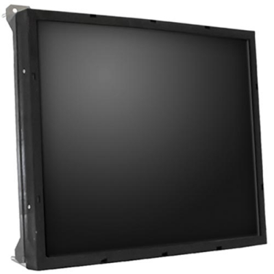 "Ceronix 19"" LCD Upright Serial Touch Monitor, TN Panel, Gold Bezel - CPA2452 - Item Photo"