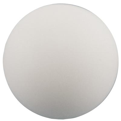 "ICE 3"" white Plastic ball - AR3024 - Item Photo"