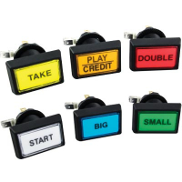 CMBGKIT - 14V Economy Illuminated Pushbutton Set (6 Buttons)