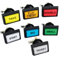 CMBGKIT7 - 14V Illuminated Pushbutton Set (7 buttons)