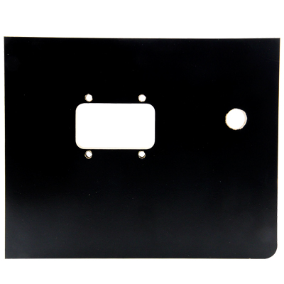 "Valley pool tables Black Push Chute Door 8-1/4"" x 10-3/16"" - CPYECSER50202 - Item Photo"