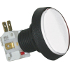 Medium Round White IPB, 14V #161 Lamp, .250 Microswitch - D54-0004-61