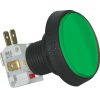 Green Medium Round Green IPB w/ .250 Microswitch #161 - D54-0004-63