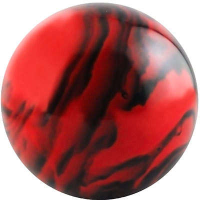 "Bowling Ball for LAI Super Strike, 4"" Red & Black Marbled - HP2861 - Item Photo"