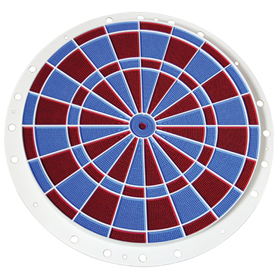 Valley dart game (Red/blue) Spider & Segment Kit - N25-0-00-00 - Item Photo