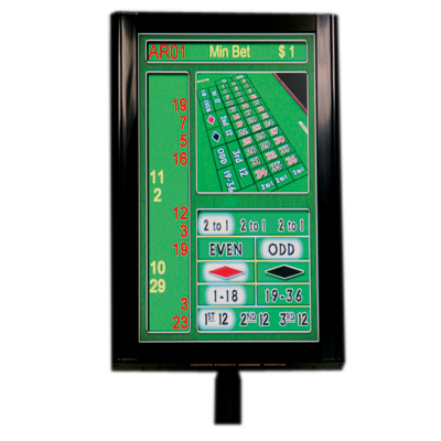 "PAltronics 18.5"" Roulette Display Kit Single Sided - LCD - OLT5118-5SS-RO - Item Photo"