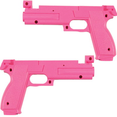 Pink Gun Half Set for Namco Games - PB04-11434-00 - Item Photo