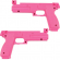 Pink Gun Half Set for Namco Games - PB04-11434-00
