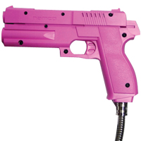 Namco, Pink, Gun Assembly, For Time Crisis 1-3 and Point Blank 2 - PB03-03141-00 - Item Photo