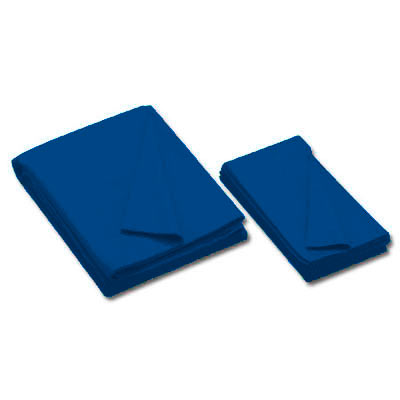 20 oz. Championship Invitational Pre-Cut Pool Cloth with Teflon for 8' Table, Unbacked, European Blue - 26-0493-578 - Item Photo