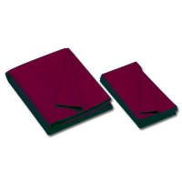 26-0493-628 - Championship Invitational, Burgundy, 20 oz., Pre- Cut Cloth, 8 Ft. Table, Teflon, Unbacked