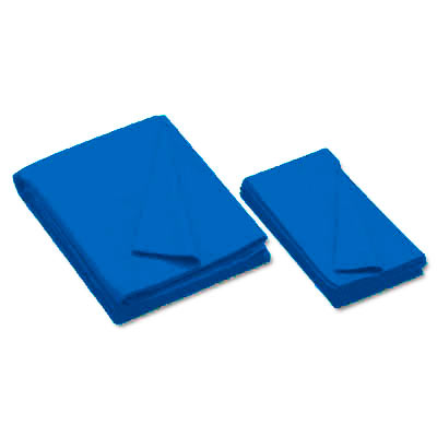 Championship Invitational, Electric Blue, 20 oz., Pre- Cut Cloth, 8 Ft. Table, Teflon, Un-backed - 26-0493-438 - Item Photo