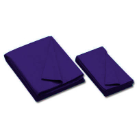 26-0493-557 - Championship Invitational, Purple, 20 oz., Pre- Cut Cloth, 7 Ft. Table, Teflon, Un-backed