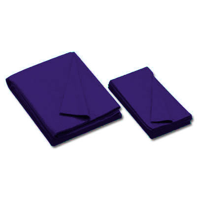 20 oz. Championship Invitational Pre-Cut Pool Cloth for 9' Table, Unbacked, Purple - 26-0493-559 - Item Photo