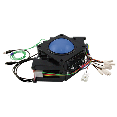 "3"" RGB Illuminated Trackball assembly w/ USB & PS/2 interface - 56-7000-24 - Item Photo"