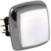 "White large ""Casino Chrome"" Square IPB w/ Chrome Bezel - RBM-730S-A99"
