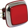 "Red large ""Casino Chrome"" Square IPB w/ Chrome Bezel - RBM-730S-A22"