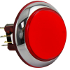 "Red large Round ""Casino Chrome"" IPB w/ Chrome Bezel - RBM-730S-E22"